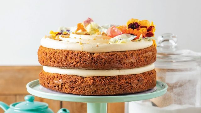 Carrot & Orange Cake Recipe by Barefoot Oxford