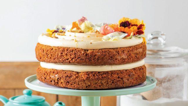 Carrot & Orange Cake Recipe by Barefoot Oxford