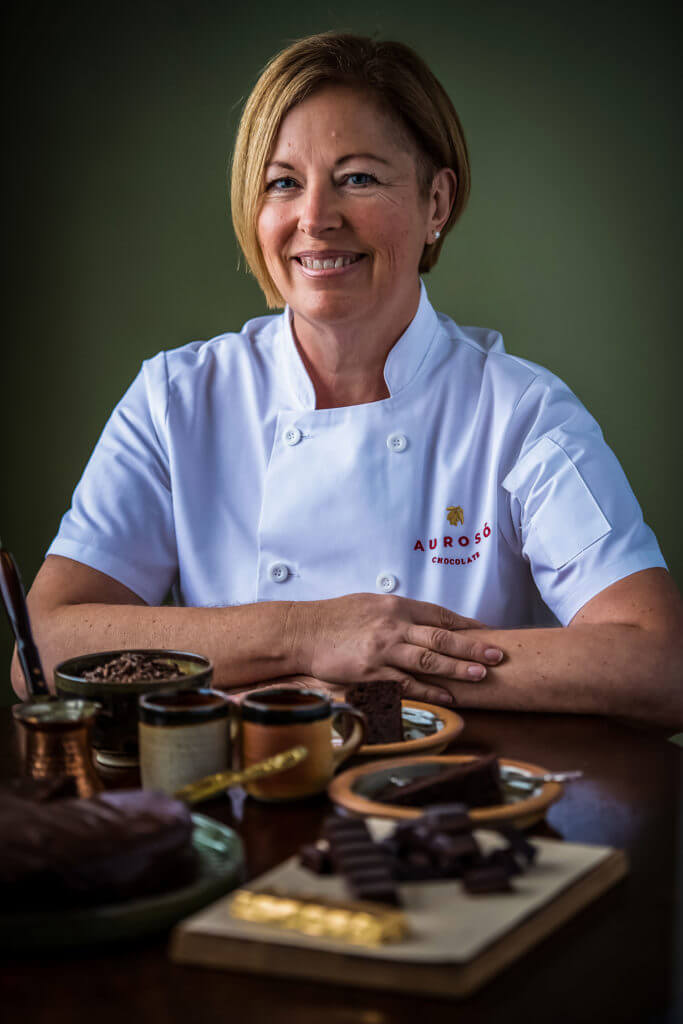 Catrin - Founder and Chocolatier at Aurosó Chocolate