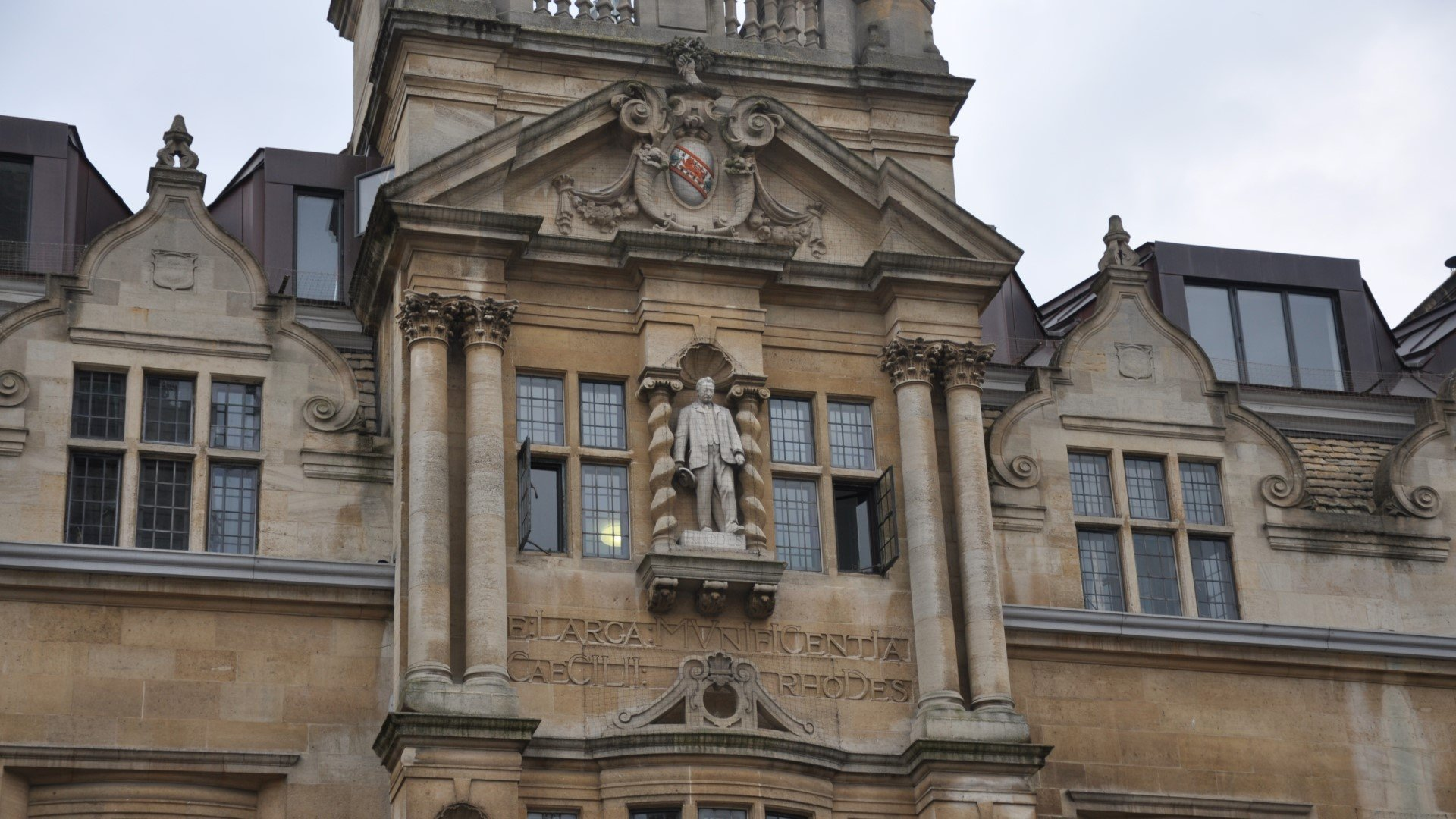 Oriel College installs plaque calling Cecil Rhodes a 'committed colonialist'