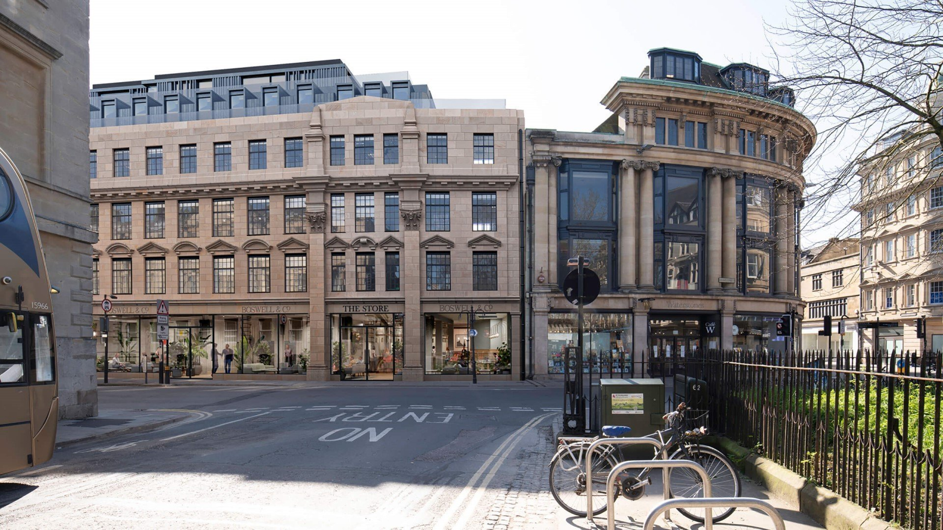 Proposals to transform Boswells building into 4-star boutique hotel unveiled