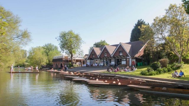 Cherwell Boathouse Restaurant Punting and Wedding Venue Oxford
