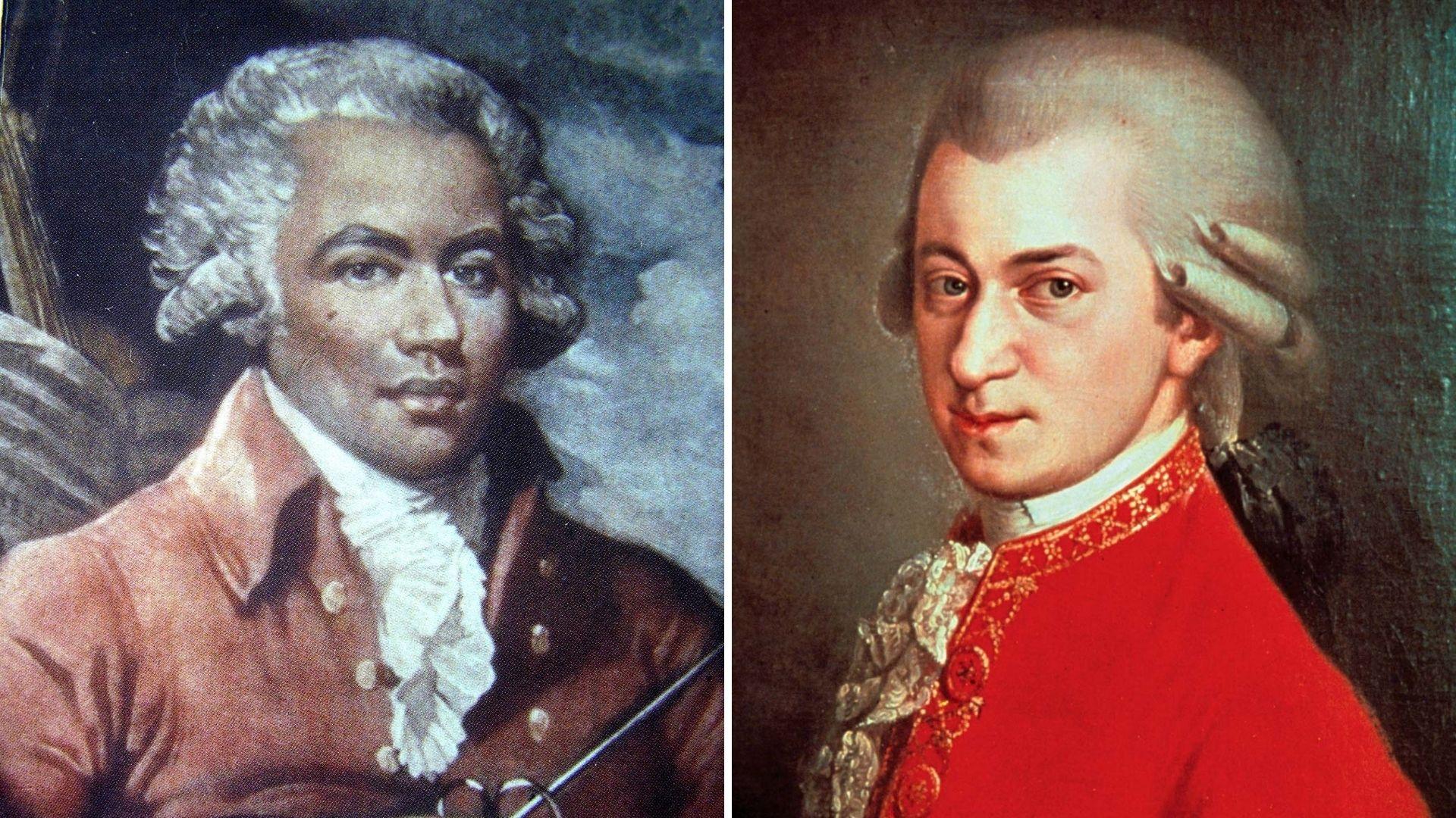 Chevalier de Saint-Georges & Mozart I & II
