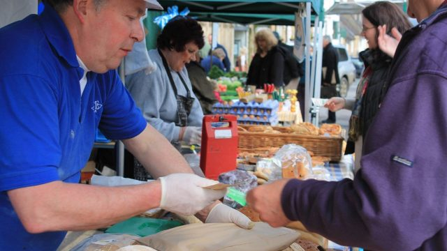 Chipping Norton Farmers' Market, Oxfordshire