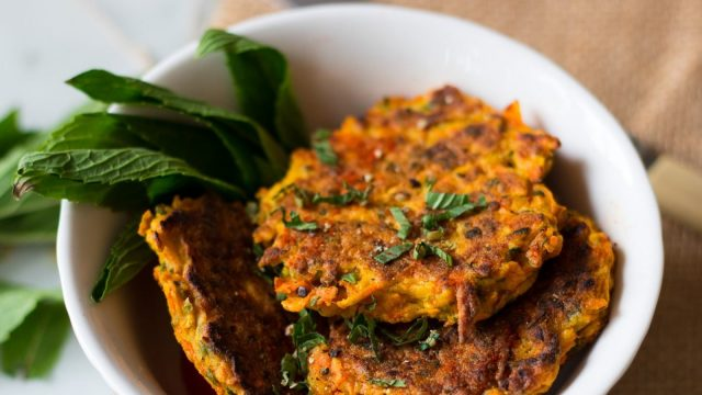 Chloe's Pumpkin and Carrot Fritters Recipe