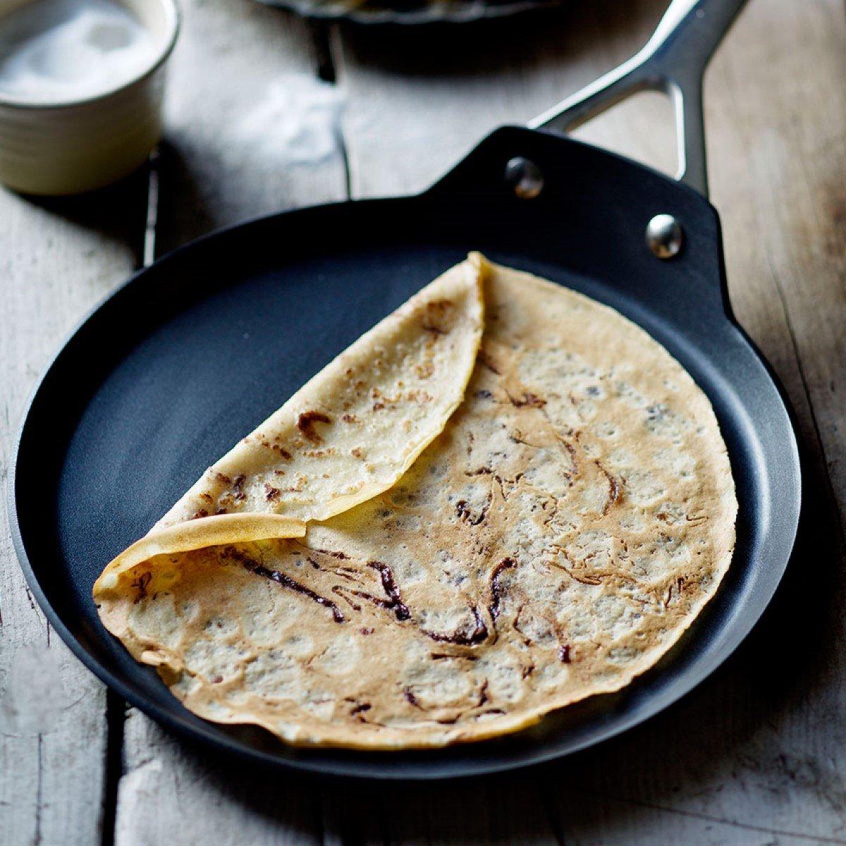 Chocolate Swirl Pancakes Recipe