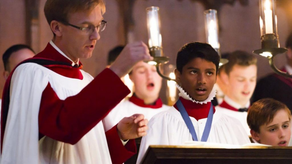 Choral Services at at New College Chapel, Oxford