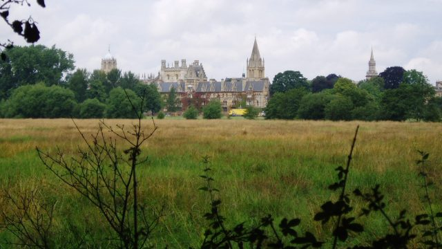 Christ Church College Meadow Oxford University