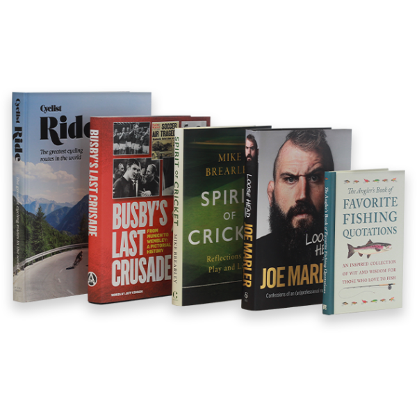 Ideas for Christmas Gifts - Books about sports and hobbies