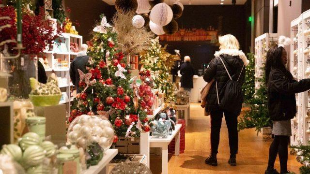 Christmas 2019 at Waddesdon Manor - Christmas pop-up shop
