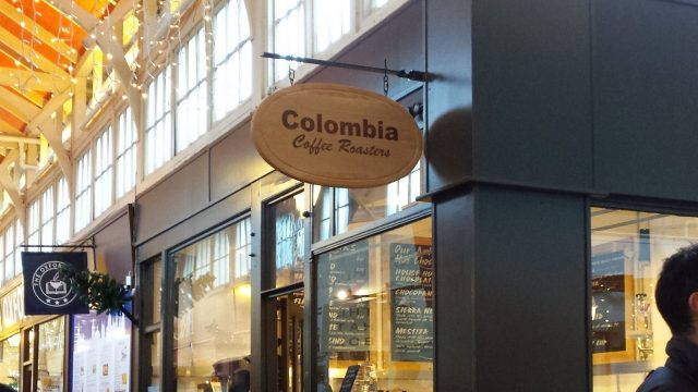 Columbia Coffee Roasters Oxford Covered Market