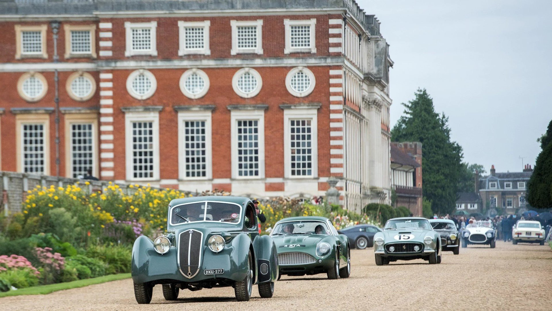 Concours of Elegance 2019 at Hampton Court Palace