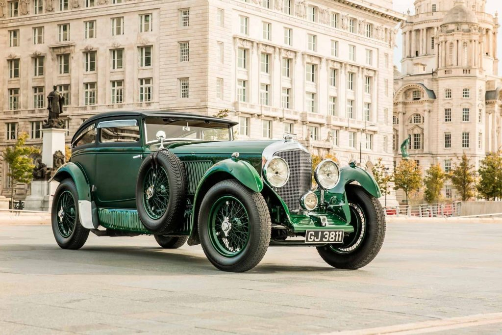Concours of Elegance 2019 at Hampton Court Palace - Bentley Centenary Display