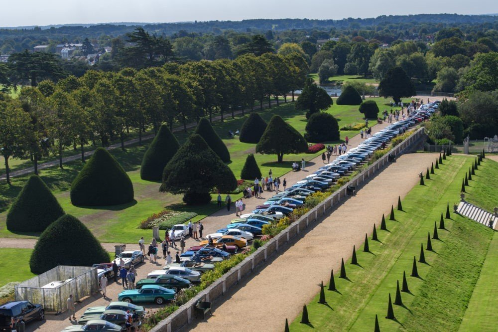 Concours of Elegance 2019 at Hampton Court Palace - Car Club Displays
