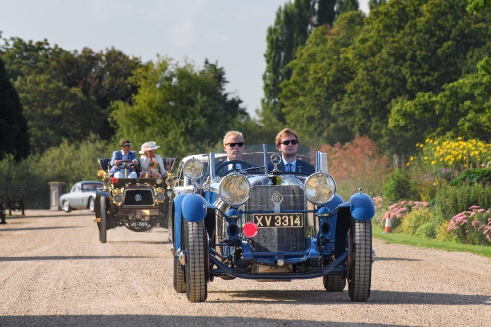 Concours of Elegance 2019 at Hampton Court Palace - The Grand Arrival Owners' Day