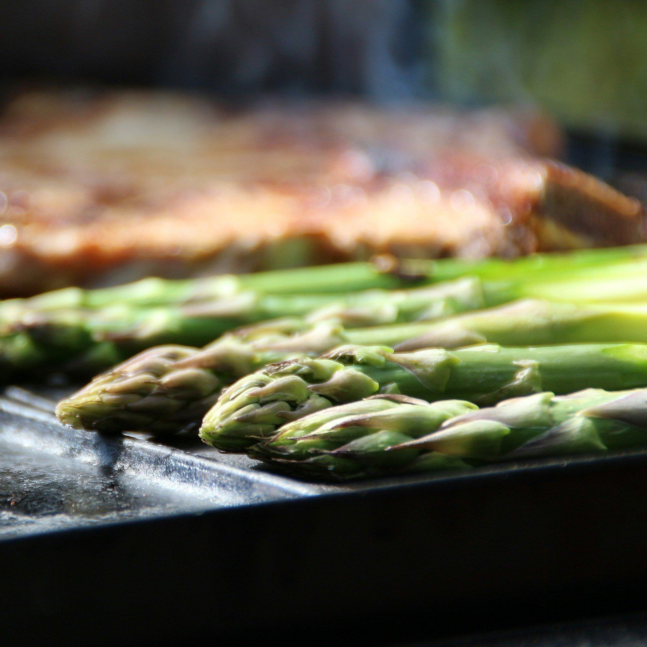 Cooking British Asparagus
