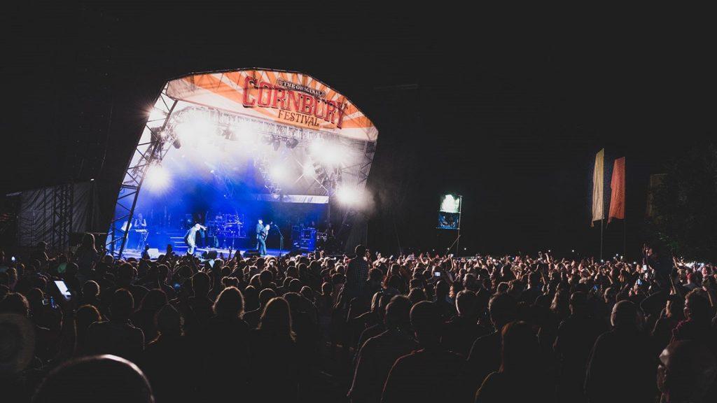 Cornbury Music Festival 2021 at Great Tew Park, near Chipping Norton, Oxfordshire.