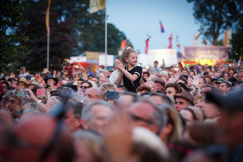 Cornbury Music Festival Goers