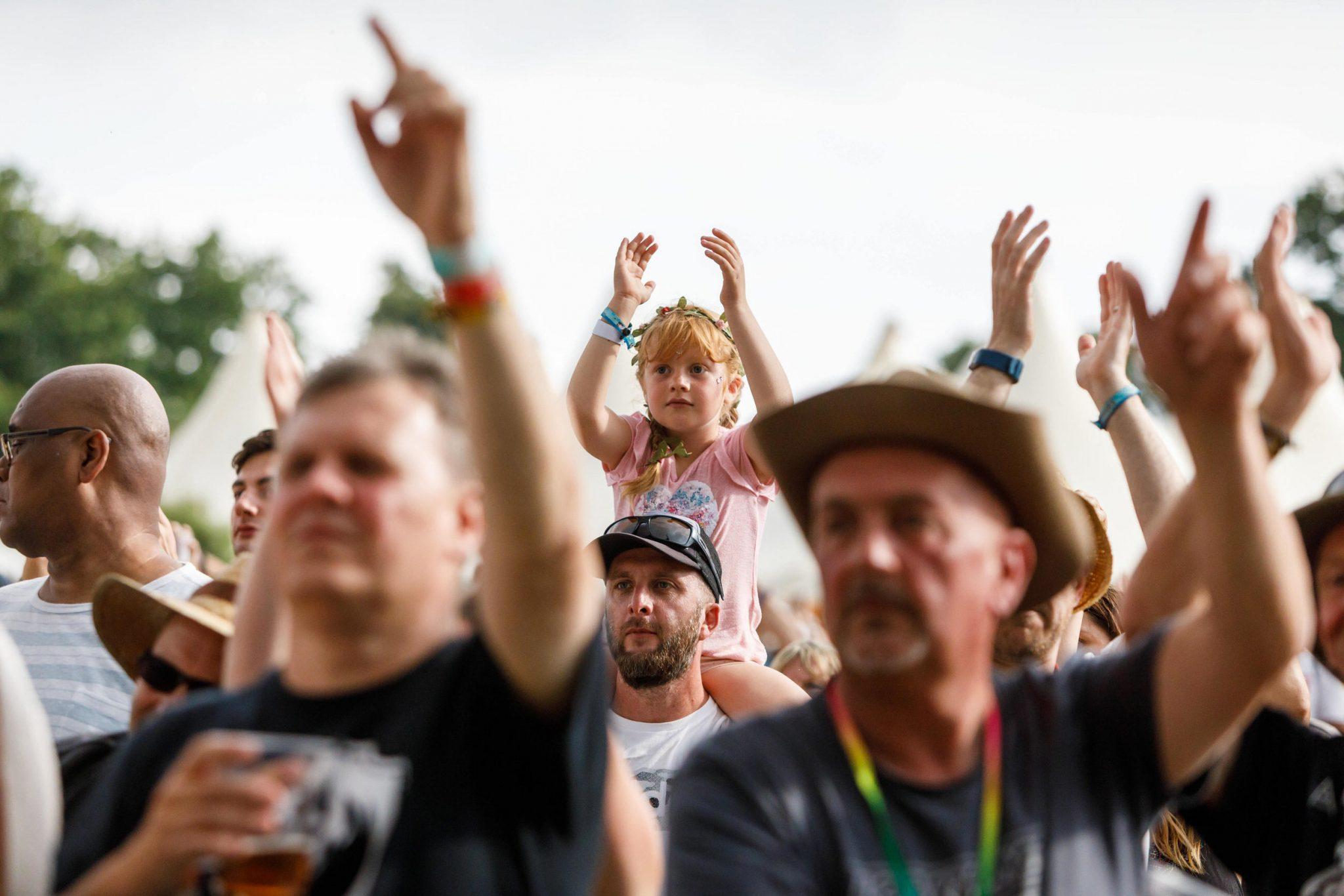 Cornbury Music Festival Goers Copyright Ben Phillips Photography