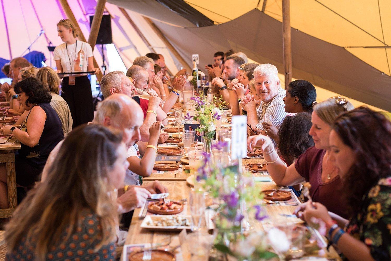 Cornbury Music Festival Bikers Meal