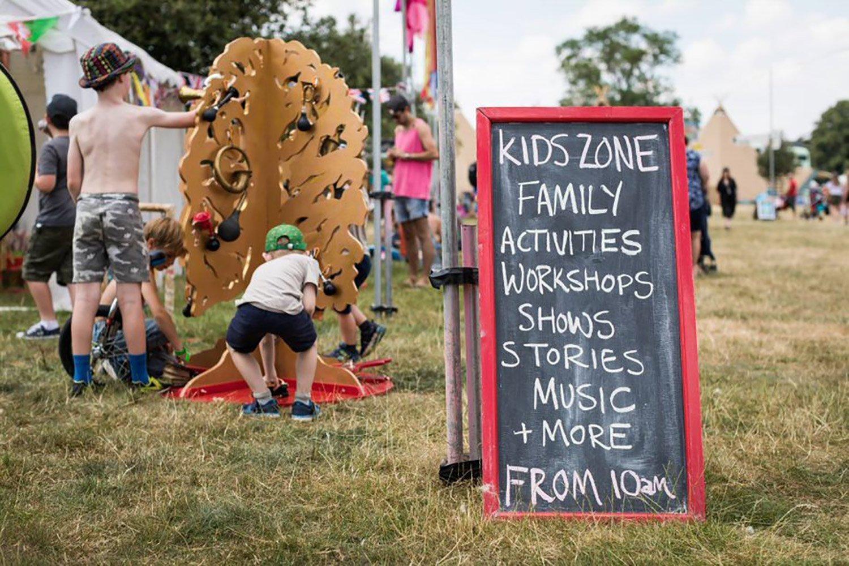 Cornbury Music Festival Kid's Zone