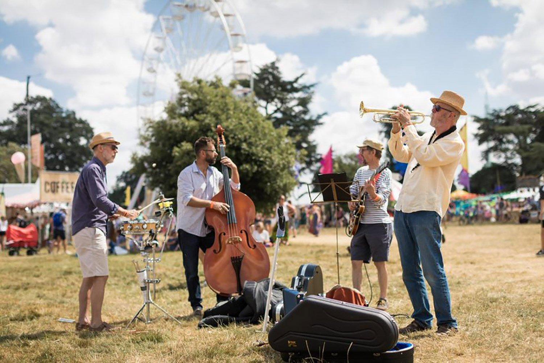 Cornbury Music Festival Off Stage Performers