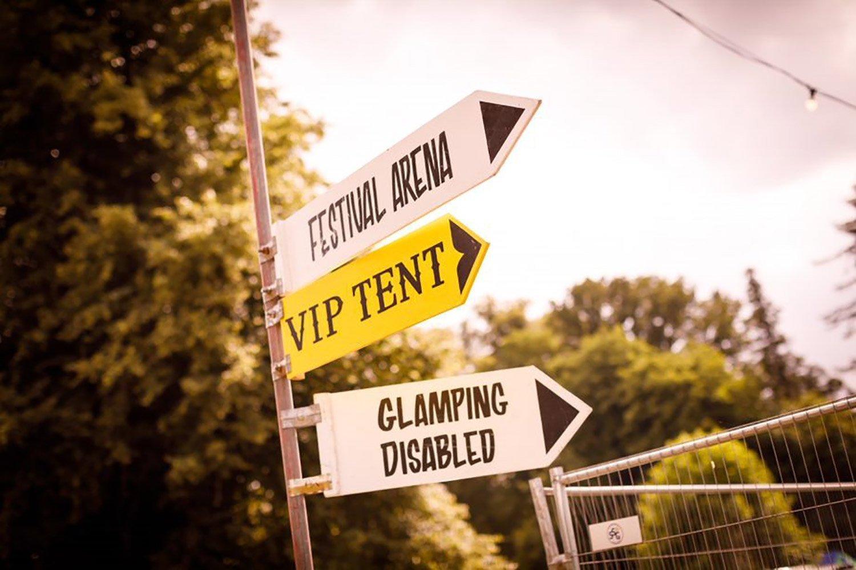 Cornbury Music Festival Signage