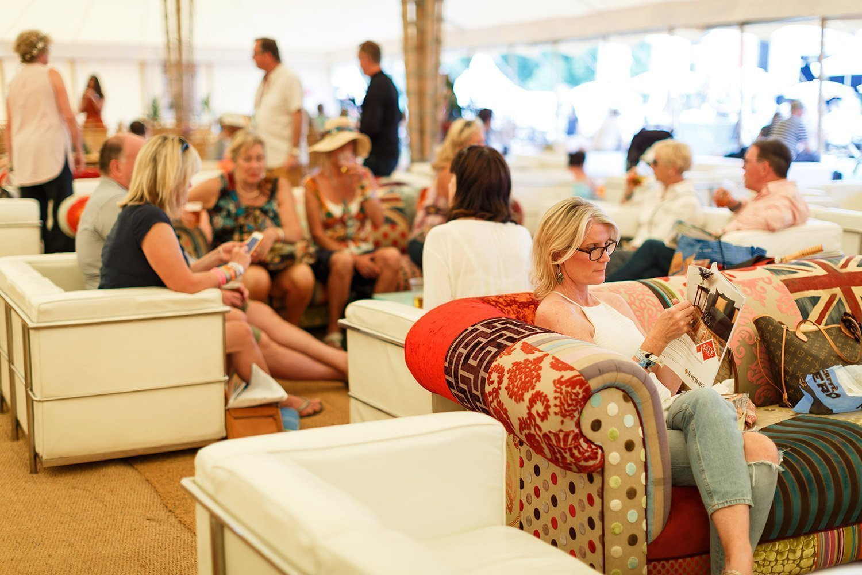 Cornbury Music Festival VIP Tent