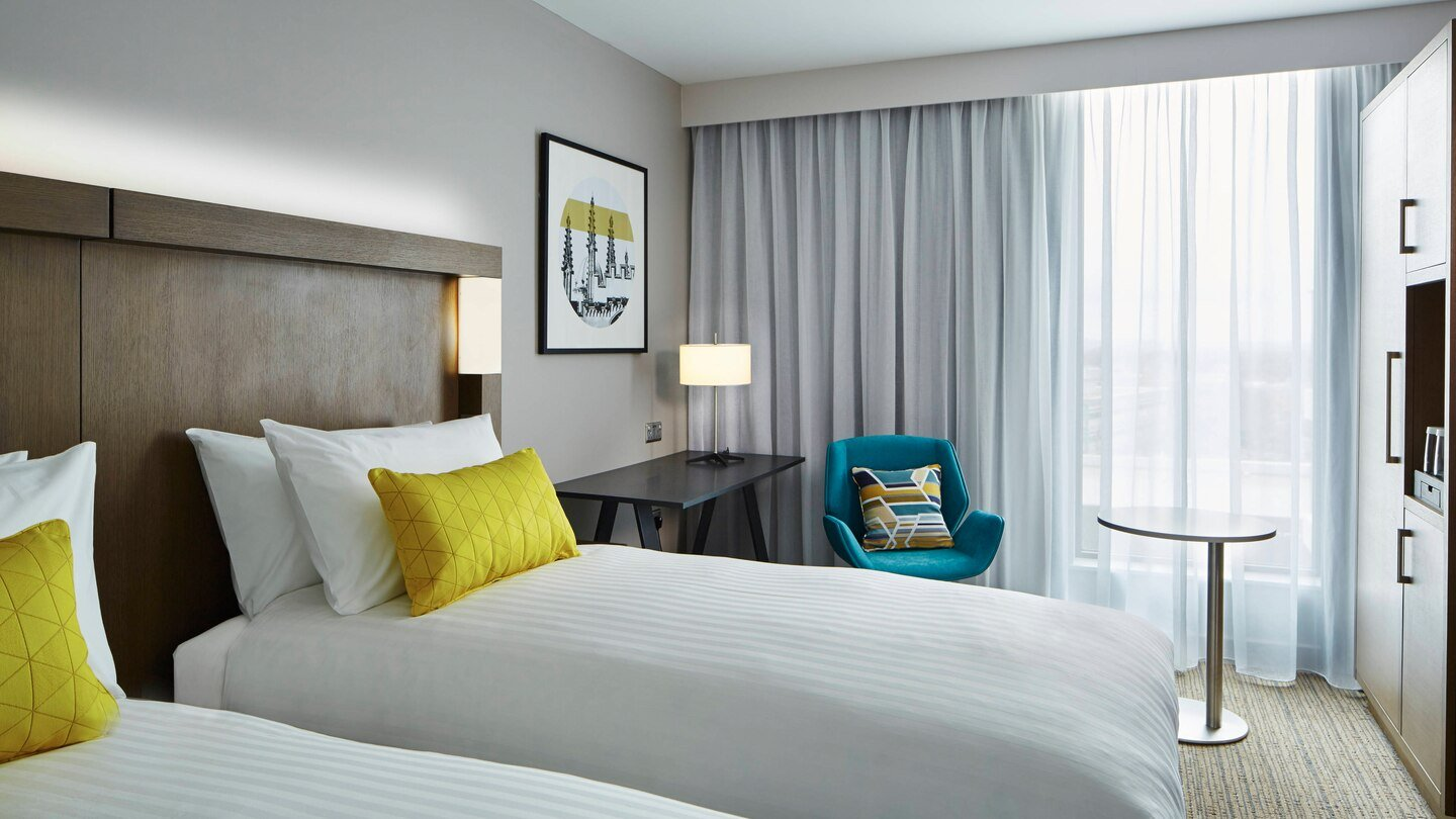 Courtyard by Marriott, Oxford South in Milton, Abingdon - Twin Guest Room