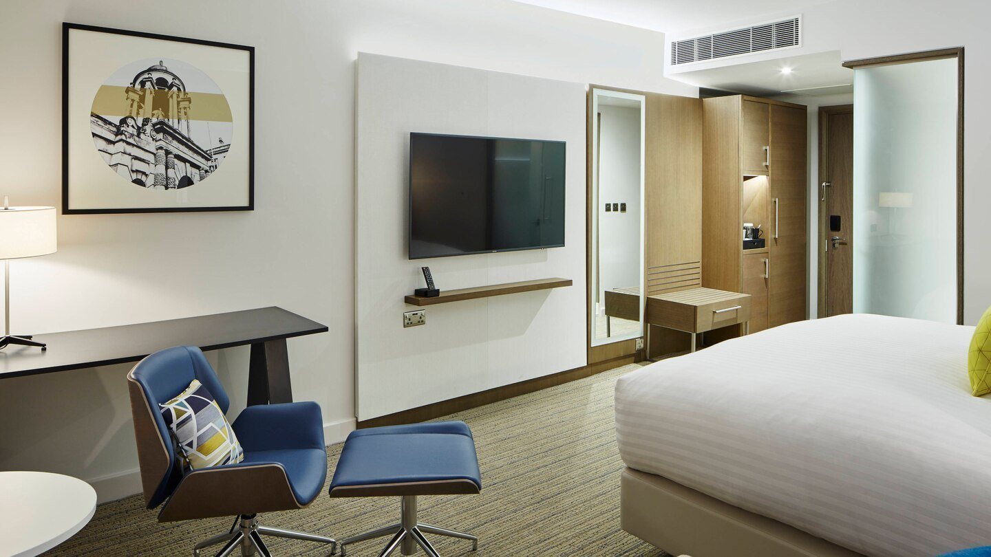 Courtyard by Marriott, Oxford South in Milton, Abingdon - King Guest Room