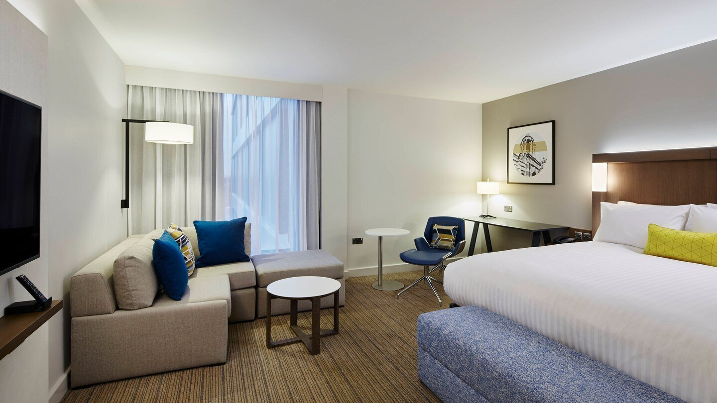 Courtyard by Marriott, Oxford South in Milton, Abingdon - Executive King Guest Room