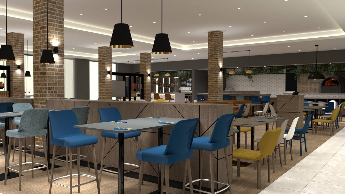 Courtyard by Marriott, Oxford South in Milton, Abingdon - The Oxen Bar & Grill