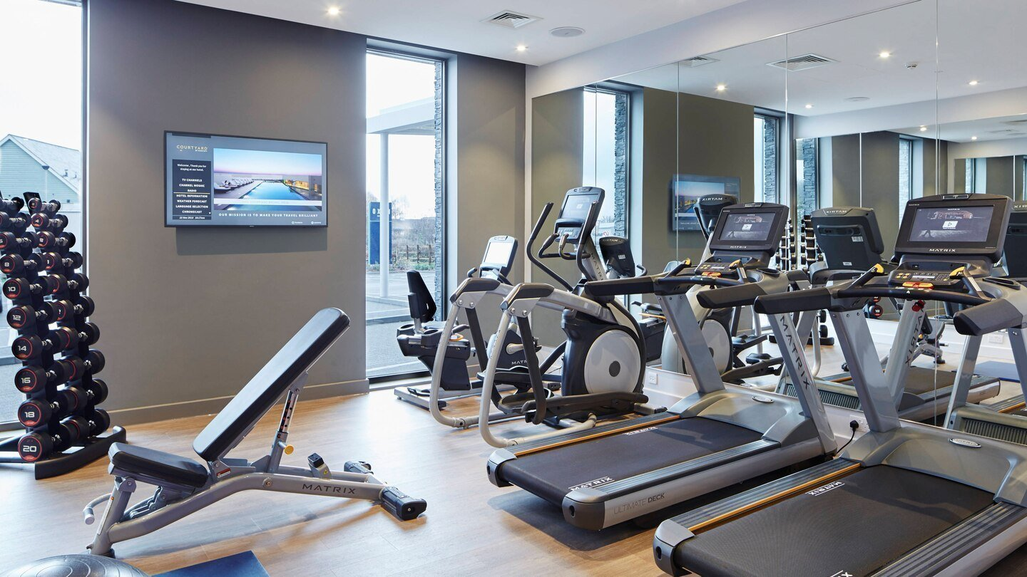 Courtyard by Marriott, Oxford South in Milton, Abingdon - Gym & Fitness Centre