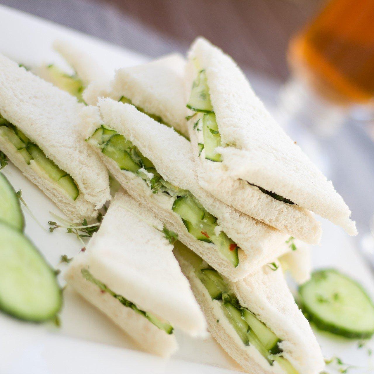 Cucumber and Cream Cheese Sandwich Recipe