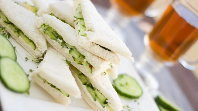 Cucumber and Cream Cheese Sandwich Recipe