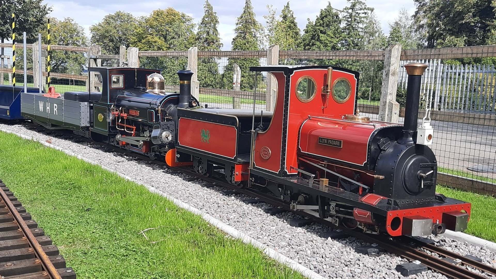 Cutteslowe Park Miniature Railway revised 2020 opening times