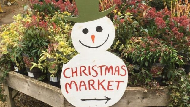 December Christmas Market at Waterperry