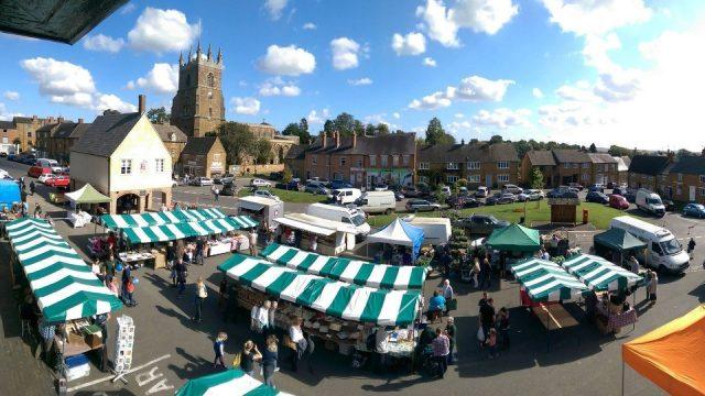 Deddington Farmers' Market, Deddington, Oxfordshire