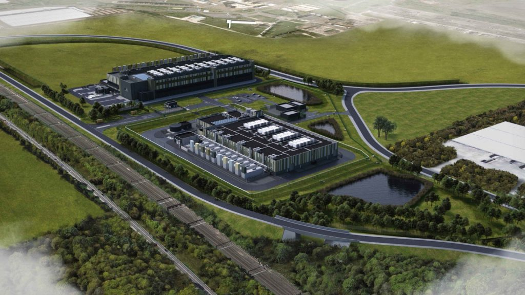 Plans for two data centres on the Didcot A Power Station site