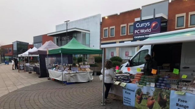 Didcot Farmers' Market, Didcot, Oxfordshire