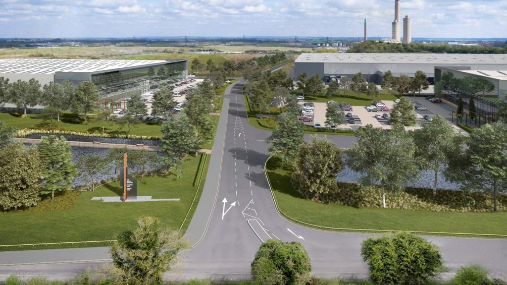 Work started on South Oxfordshire's Didcot Quarter industrial development