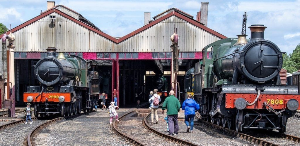 Didcot Railway Centre Autumn Open Days - Engine Shed