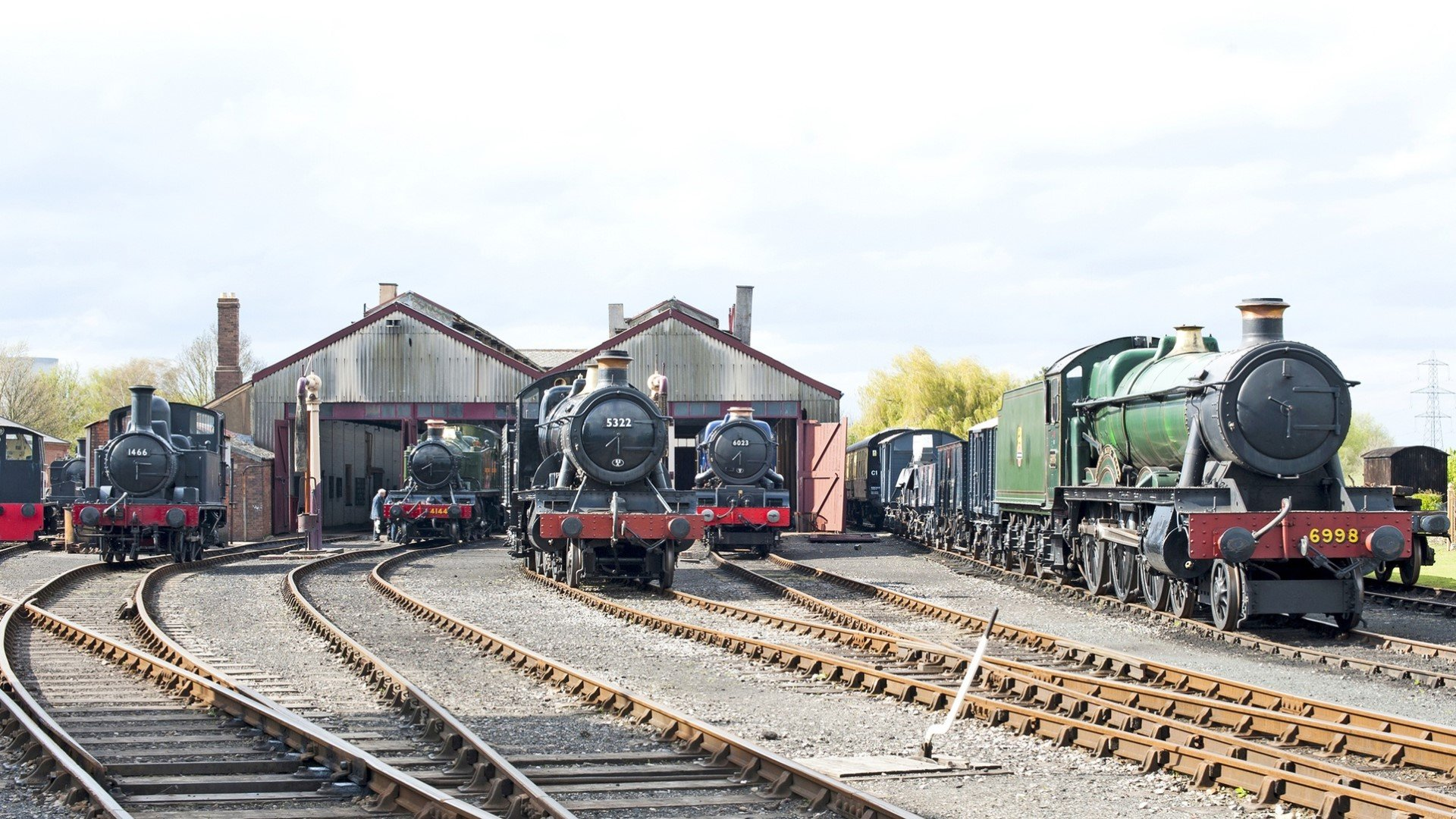 Didcot Railway Centre selected for contemporary art programme
