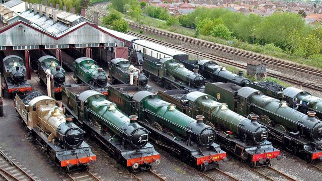 Didcot Railway Centre in Didcot, Oxfordshire