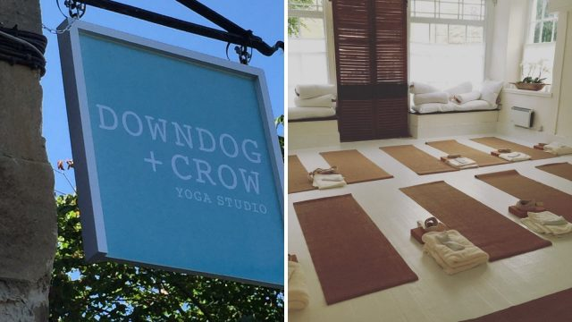 Downdog + Crow Yoga Studion in Woodstock Oxfordshire Cotswold