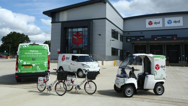 Oxford is first all-electric city for delivery company DPD UK