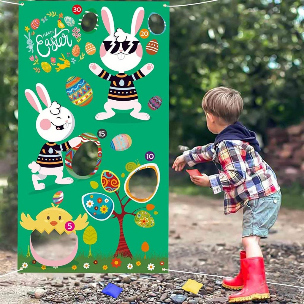 Easter Bunny Beabbag Toss Game
