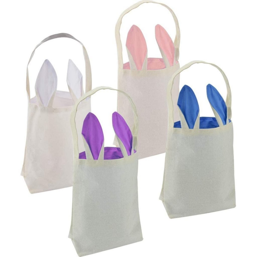 Easter Egg Collection Tote Bags