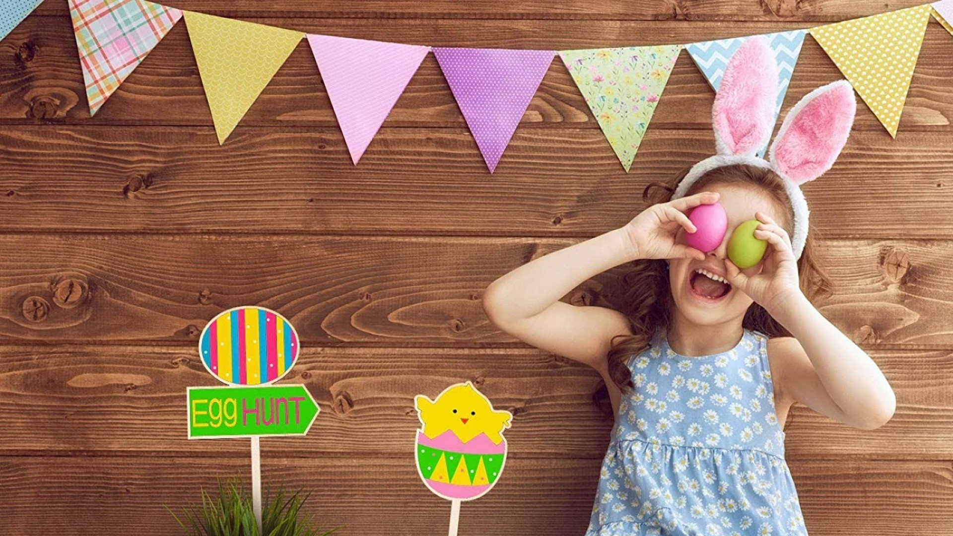 All you really need to organise your very own Easter egg hunt