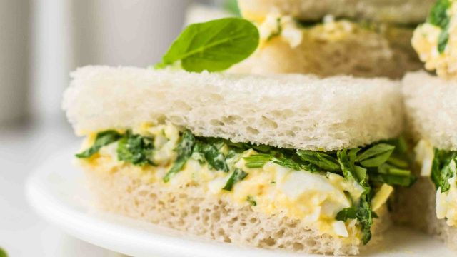 Egg and Watercress Salad Sandwich Recipe